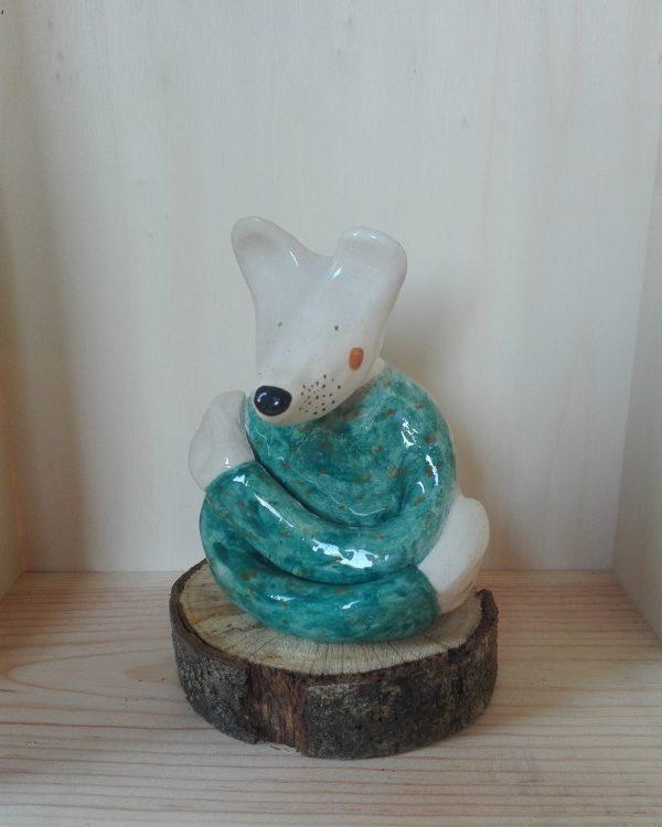 figura cerámica HeyJuddy