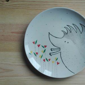 plato ceramica Ouri HeyJuddy