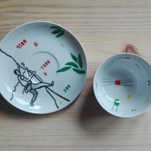 Platos y tazas